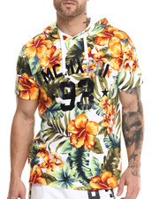 Buyers Picks - Floral MCMXCIII s/s hoodie shirt