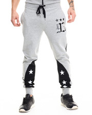 Men - Star Color Block jogger pants