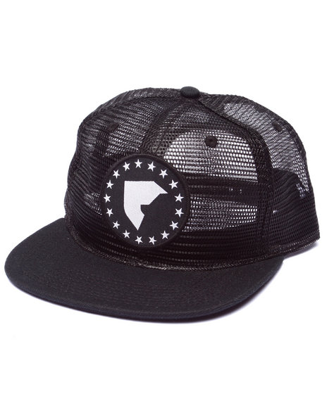 Ur-ID 223093 Famous Stars & Straps - Men Black Native Boh Stretch Fit Hat