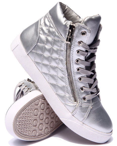 Fashion Lab Silver Sneakers