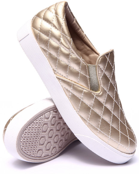 Fashion Lab Gold Sneakers