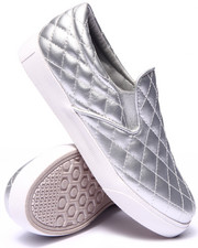 Women - Ollie Quilted Faux Leather Slip On Sneaker