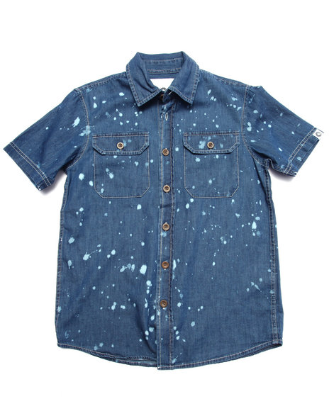Medium Wash Button-Downs