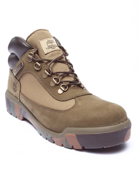 Timberland - Men Olive Timberland Icon Field Boots