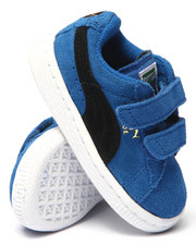 Toddler & Infant (0-4 yrs) - Suede 2 Straps Sneakers (5-10)