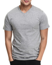 Basic Essentials - Premium V - Neck S/S Tee