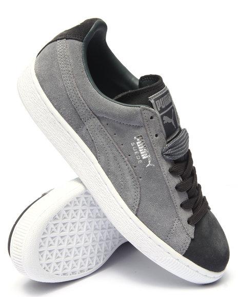 Ur-ID 215564 Puma - Men Grey Suede Classic Lo