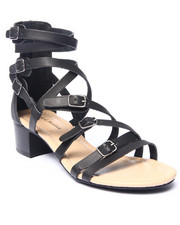 Fashion Lab - Stanley Strappy Block Heel Sandal