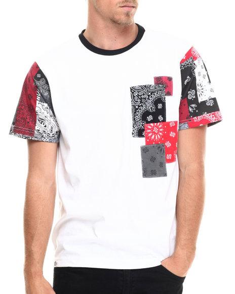 jacob bandana patchwork s/s tee