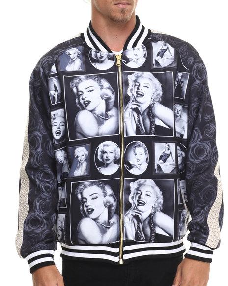 Frost Originals - Men Black Marilyn Track Jacket