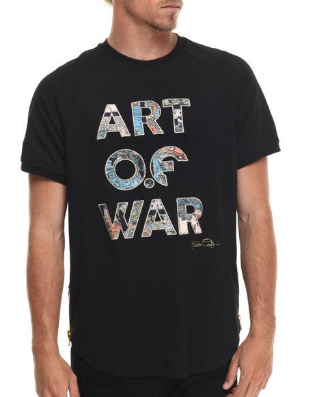 Frost Originals - Men Multi Art Of War Scalloped S/S Tee