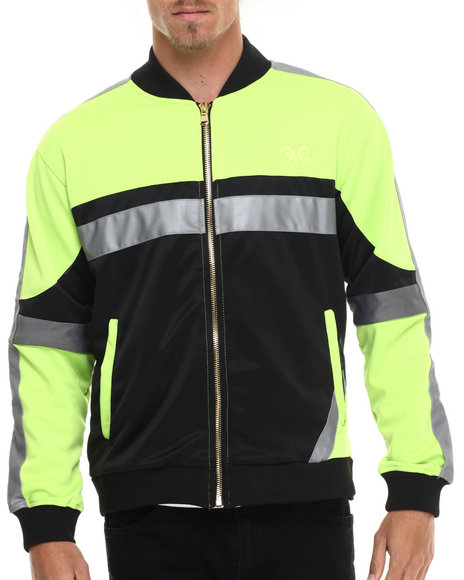 Frost Originals - Men Lime Green Recon Track Jacket