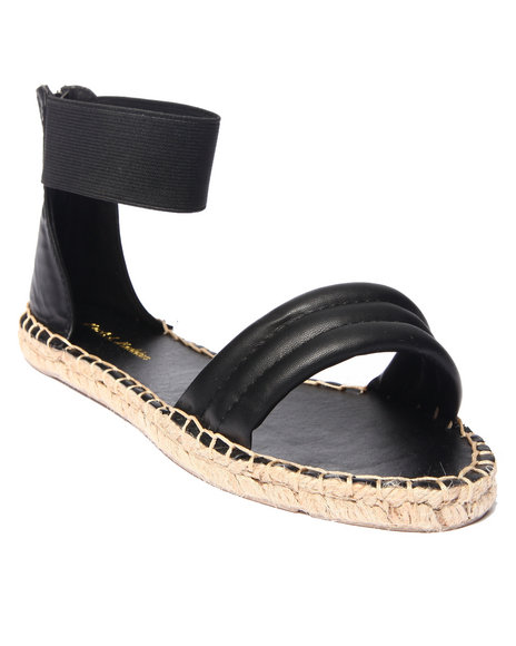 Ur-ID 215672 Fashion Lab - Women Black Shawn Open Toe Sandal