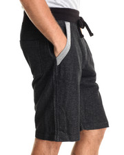 Men - Indigo Jogger Drawstring Shorts