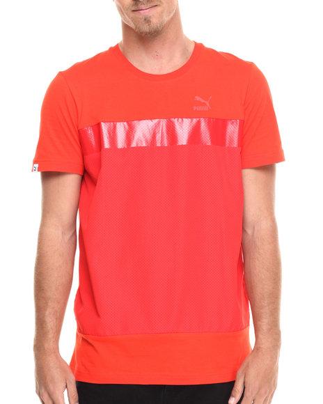 Ur-ID 215619 Puma - Men Orange,Red Fashion S/S Tee
