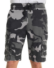 Buyers Picks - Camo Knit cargo Sweatshorts