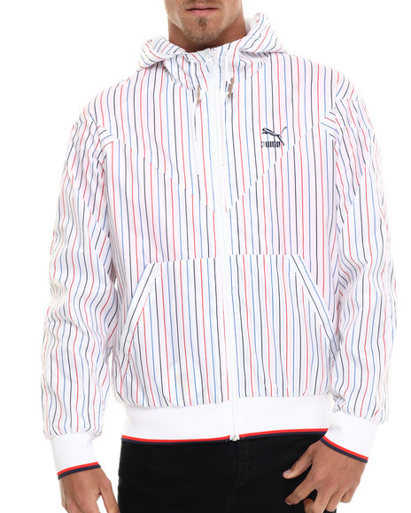 Puma - Men White M C S Tennis Jacket