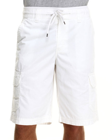 Buyers Picks - Men White Dueces Cargo Shorts
