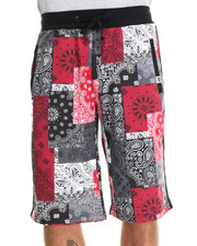 Men - Harris Bandana Patchwork Allover print Shorts