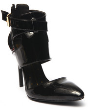 Footwear - Gio Pointed Toe Buckled Strap Pump