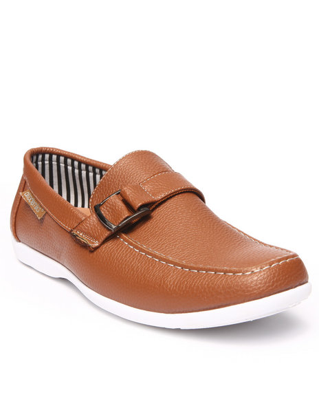 Ur-ID 215657 Akademiks - Men Tan Classic Side Buckle Shoe