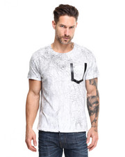 True Religion - Cracked Marble Tee
