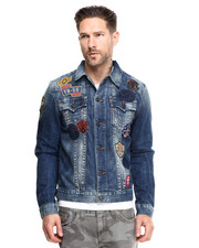 True Religion - Jimmy Traveled Patchwork Jacket