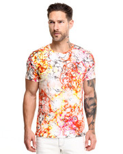 Shirts - Marble Print Logo Tee