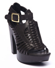 Women - Toby Open Toe Caged Heeled Platform Sandal