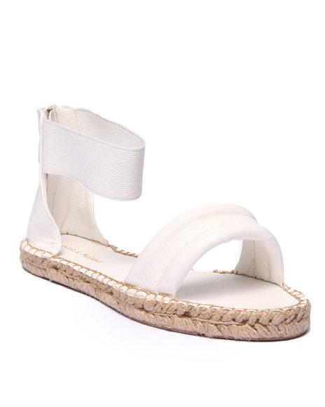 Ur-ID 215689 Fashion Lab - Women White Shawn Open Toe Sandal