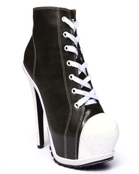 Ur-ID 215693 Fashion Lab - Women Olive Alessandra Sneaker Pump