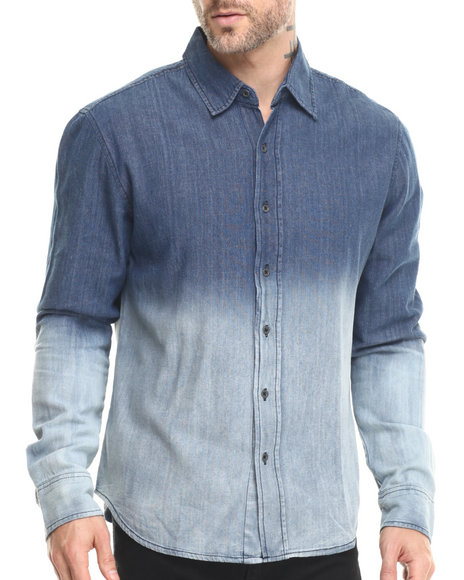 Buyers Picks - Men Indigo Deep Dye L/S Denim Shirt