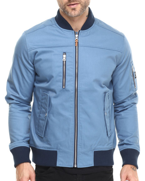 Wesc - Men Light Blue Dastari Bomber Jacket