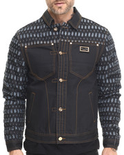 Cote De Nuits - Laser Cut Denim Jacket