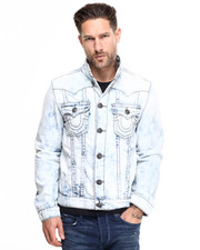 True Religion - Jimmy Mineral Reef Jean Jacket