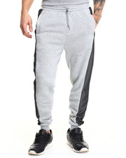 Men - Mesh Detail Jogger pants