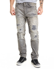 Cote De Nuits - Cote Distressed Denim Jeans