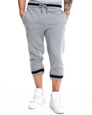 Men - 2-Tone Fleece jogger Shorts