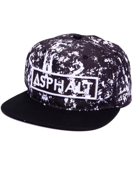Ur-ID 223096 Asphalt Yacht Club - Men Black Acid Drop Snapback Cap