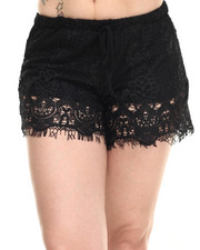 Fashion Lab - Crochet Lace Short