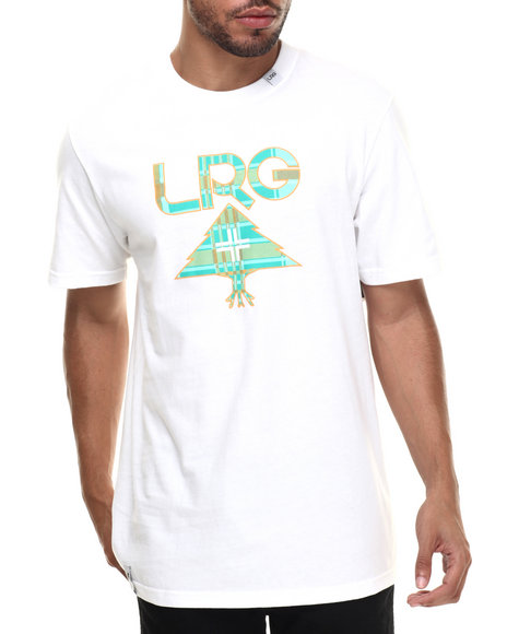 LRG - Men White Franco Hova T-Shirt