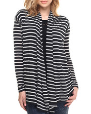 Long-Sleeve - L/s Striped Cozi Cardi