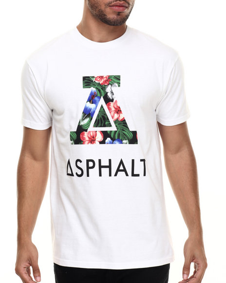 Asphalt Yacht Club - Men White Paradise Icon Tee