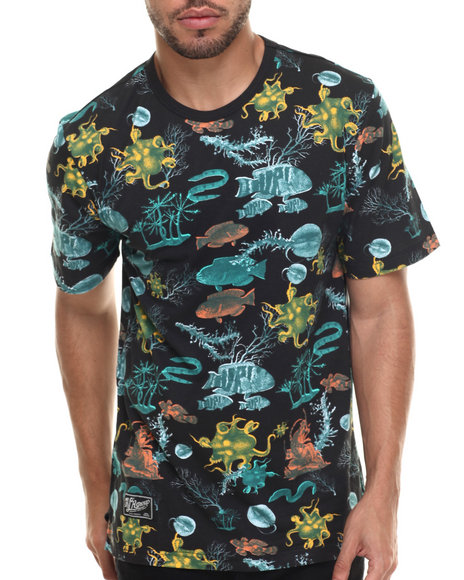 LRG - Men Black Underwater High T-Shirt