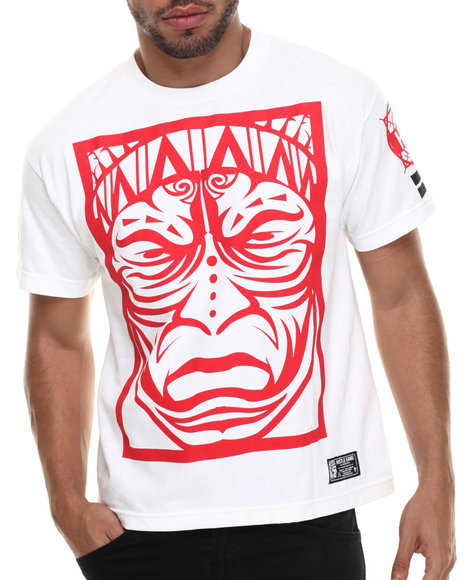 Hustle Gang - Men Red,White Warpath Tee