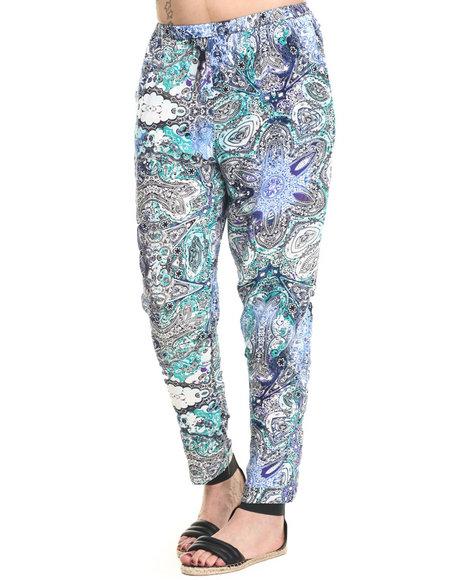Ur-ID 215775 Vertigo - Women Multi Paisley Print Harem Pants