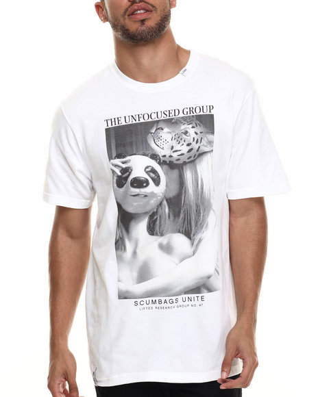 LRG - Men White Animal Instincts T-Shirt