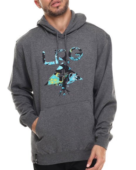 Lrg - Men Grey Underwater High Hoodie
