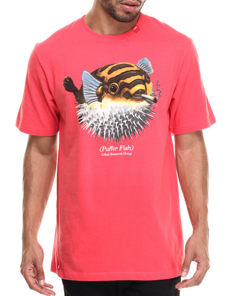 LRG - Men Red Puffy Pufferton T-Shirt