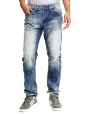 Men - Clayton Washed Denim Jeans